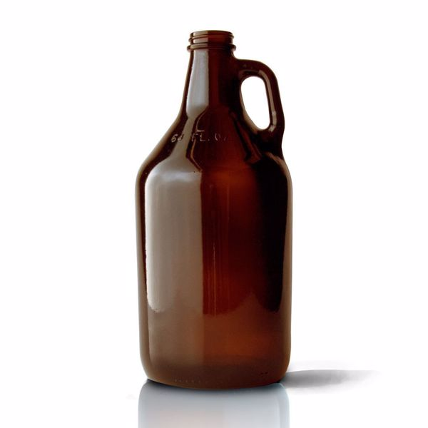Libbey 64oz Amber Growler #70217