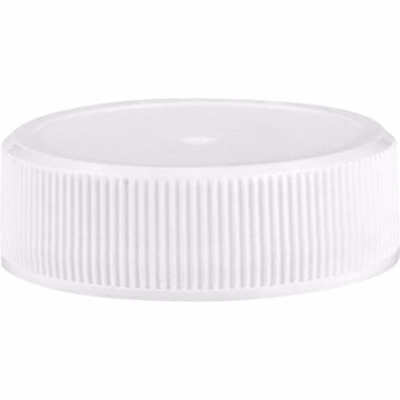 1l Boston Round Growler 33/400 Closure (White)